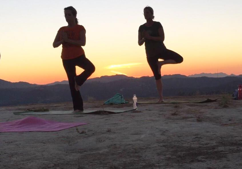 2015-10-27 - Linda Welles and Michelle Marlow in the Santa Monica Mountains